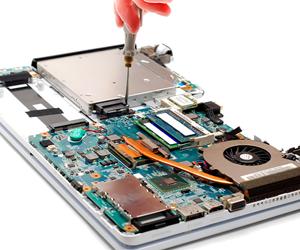 Laptop Innenreinigung
